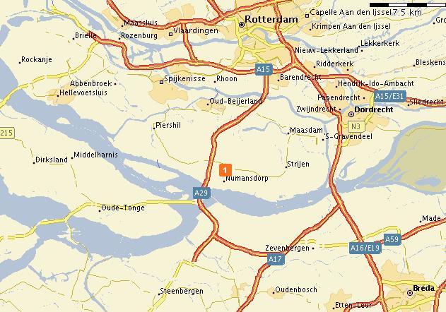 Route Numansdorp